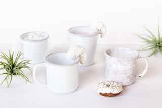 Pink mugs & tumblers